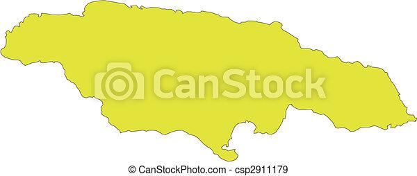 karibisch, jamaika, insel, meer - csp2911179