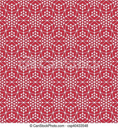 karikák, motívum, geometriai, megvonalaz, seamless - csp40433548