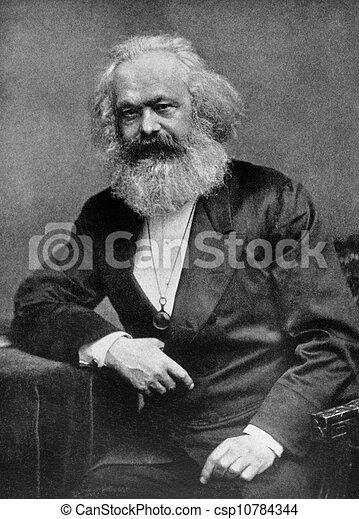 Karl Marx - csp10784344