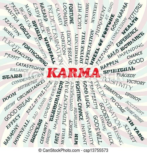 Karma Eps Clip Art Csp13755573