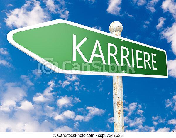 Karriere - csp37347628
