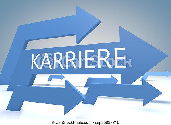 Karriere - csp35937216