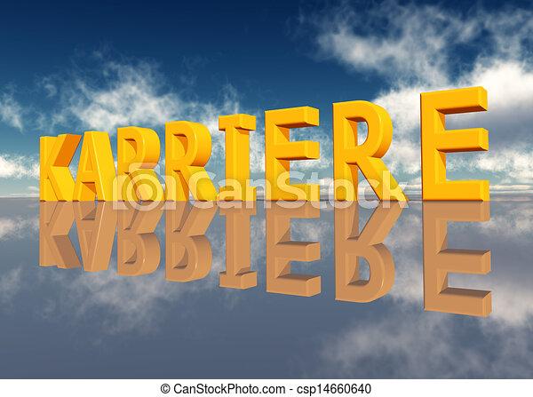 Karriere - csp14660640