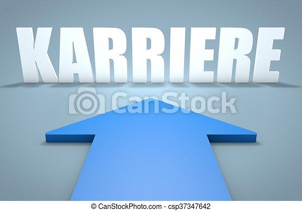 Karriere - csp37347642