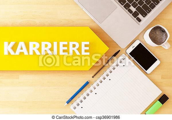 Karriere - csp36901986