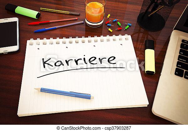 Karriere - csp37903287