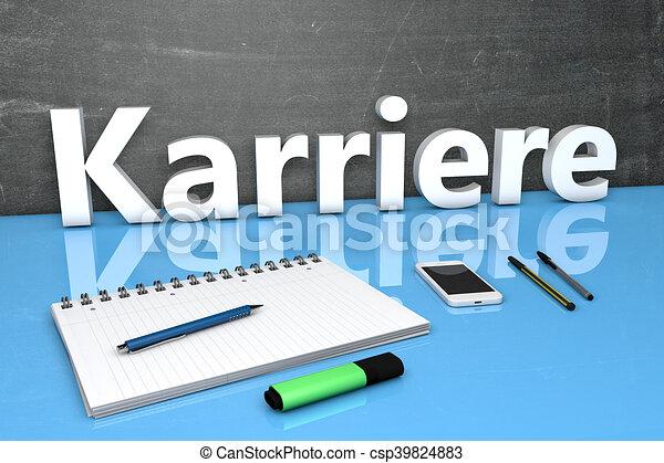 Karriere - csp39824883