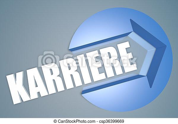 Karriere - csp36399669