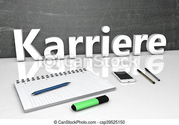 Karriere - csp39525150