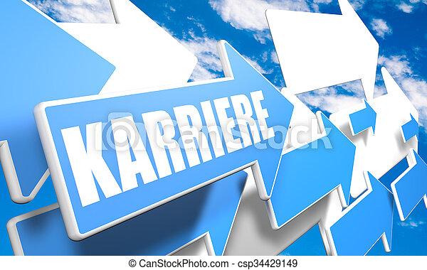 Karriere - csp34429149