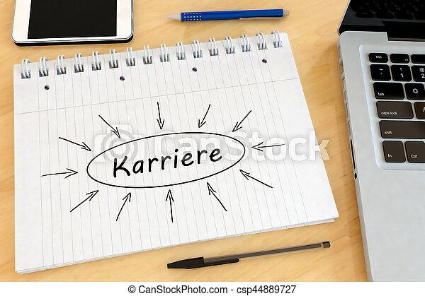 Karriere - csp44889727