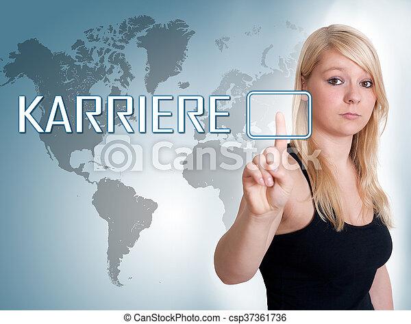 Karriere - csp37361736