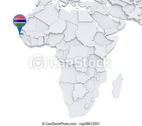 gambia karta afrika Karta, afrika, gambia. Karta, gambia, medborgare, afrika  gambia karta afrika