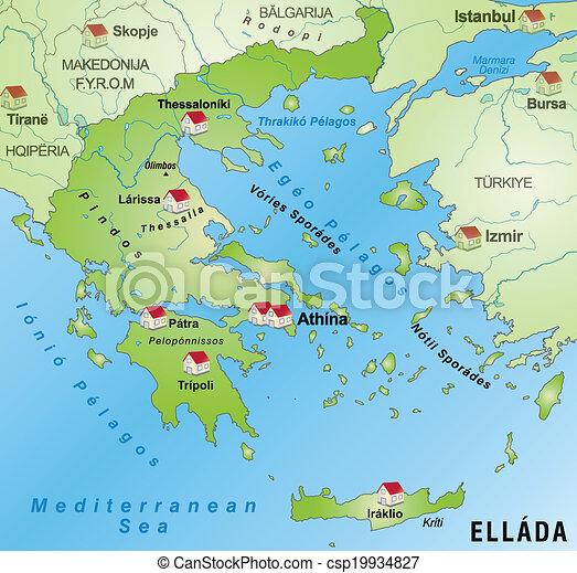 grekland karta Karta, grekland. Karta, infographic, grön, grekland. grekland karta