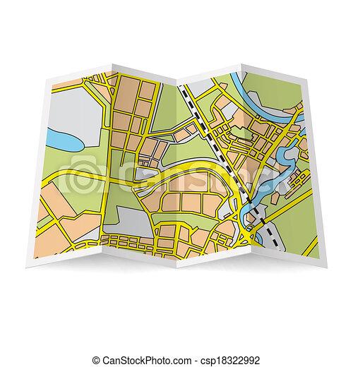 karta, häfte - csp18322992
