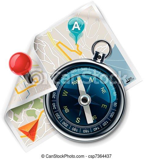 karta, väg, /, vektor, navigation, xxl - csp7364437