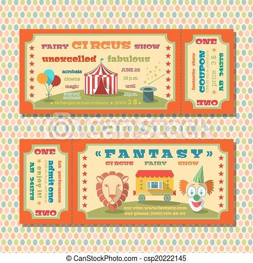 Karten, zirkus, schablone. Karten, schablonen, tiere,... EPS Vektor ...
