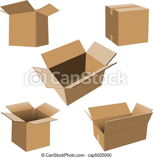 karton bokst, set - csp5025000