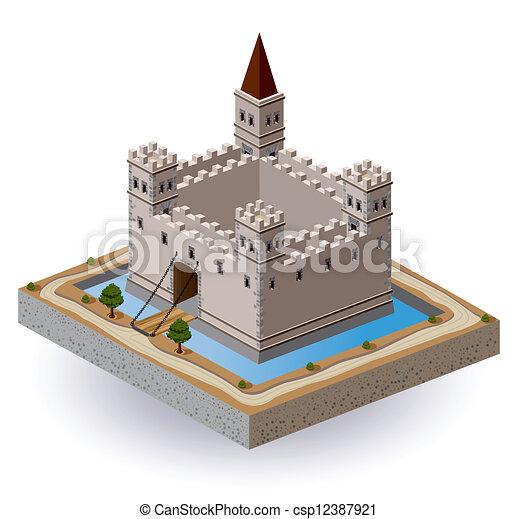 kasteel - csp12387921