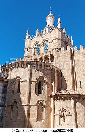 kathedrale, altes , coimbra - csp26337448