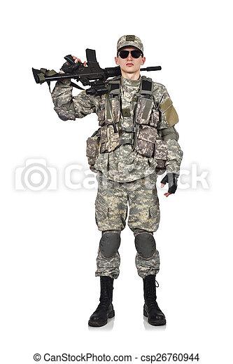 katona, amerikai - csp26760944