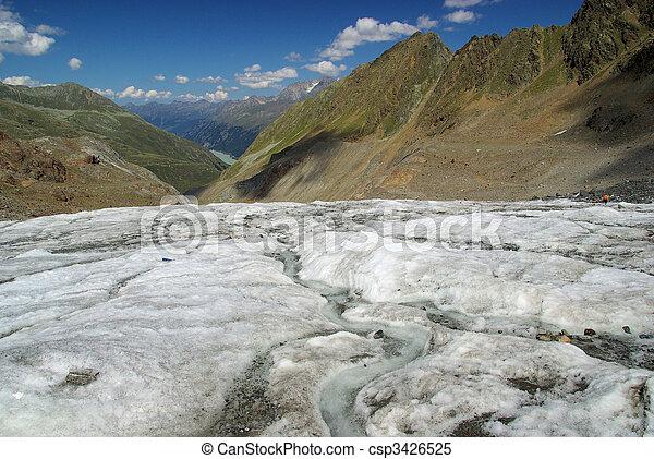 Kauner valley glacier 01 - csp3426525