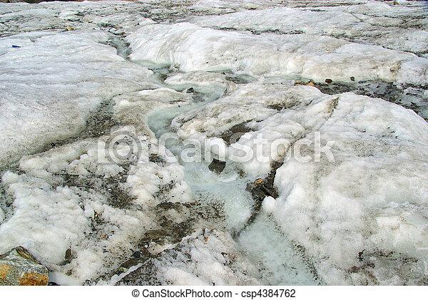 Kauner valley glacier 02 - csp4384762