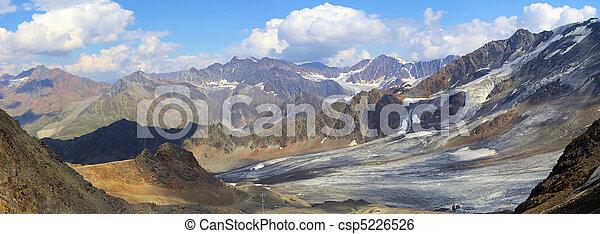 Kauner valley glacier 04 - csp5226526
