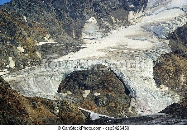 Kauner valley glacier 05 - csp3426450