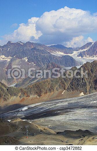 Kauner valley glacier 08 - csp3472882