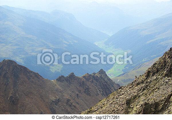 Kauner valley glacier 12 - csp12717261