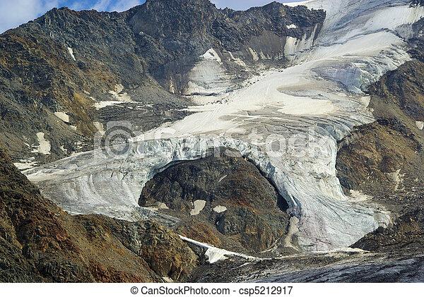 Kauner valley glacier 18 - csp5212917