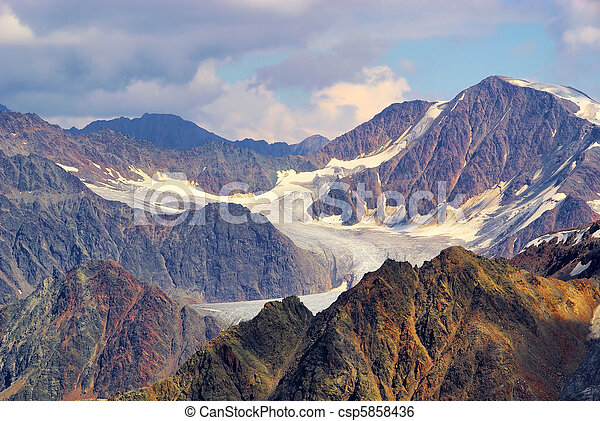 Kauner valley glacier 19 - csp5858436