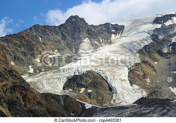 Kauner valley glacier - csp4493381