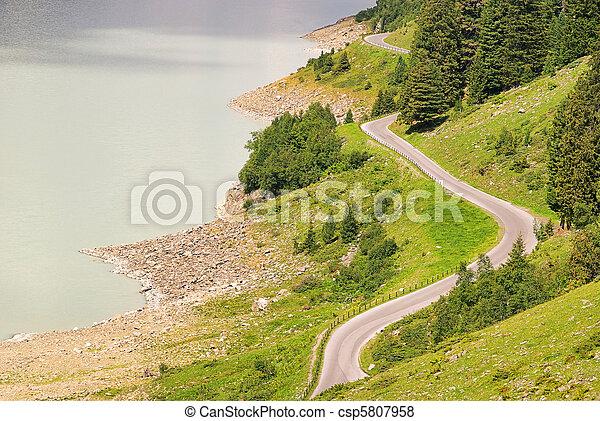 Kauner valley glacier road 11 - csp5807958