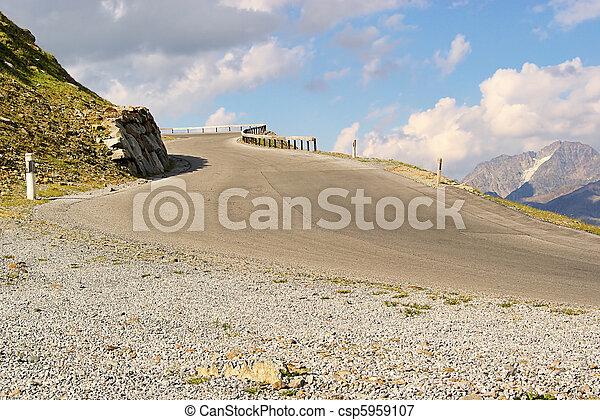 Kauner valley glacier road 12 - csp5959107