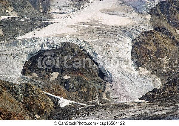 Kauner valley glacier - csp16584122