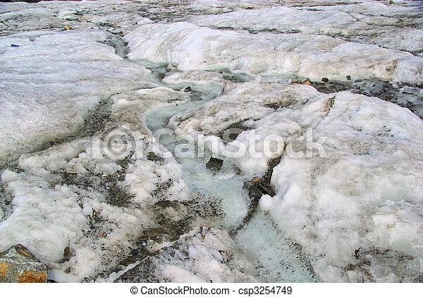 Kauner valley glacier - csp3254749