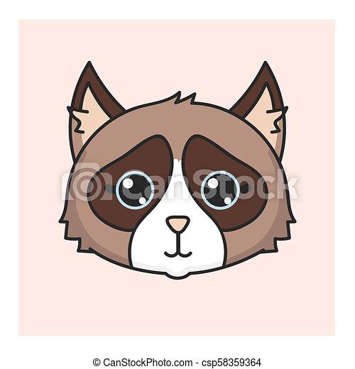 Kawaii Coreano Estilo Japoneses Gato Kawaii Cute Estilo