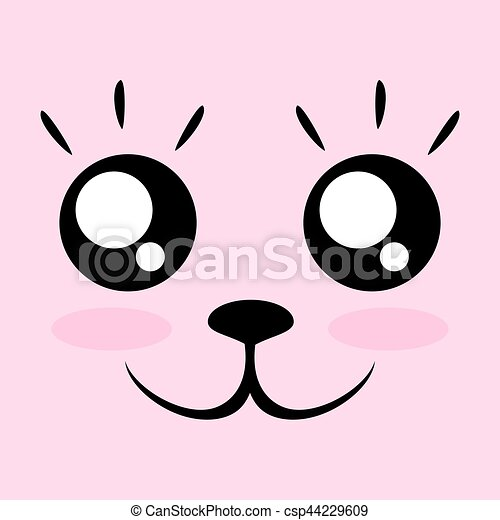 creative design of kawaii face cartoon eye clip art images cartoon eyes clip art for horse