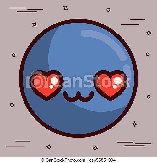 kawaii icon - csp55851394
