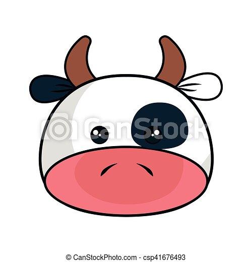 Kawaii Mignon Style Vache Animal