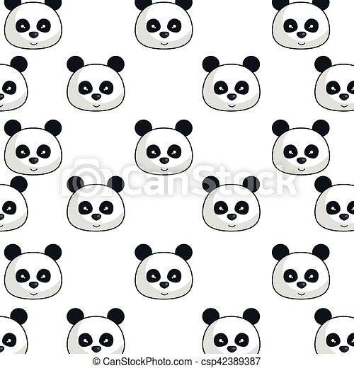 panda zeichen