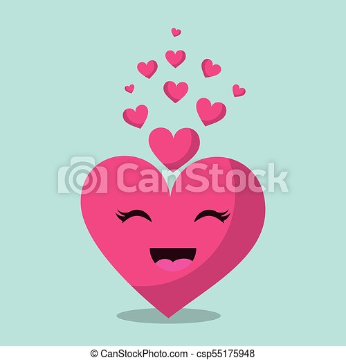 Kawaii Rose Amour Romantique Coeur Passion émotion