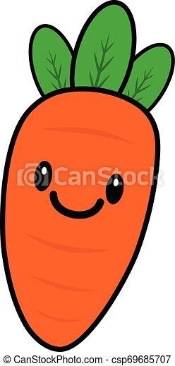 Zanahoria Kawaii Una Ilustracion De Dibujos Animados De Una Zanahoria De Kawaii Canstock Colorea online con dibujos.net y podrás crear y compartir tu propia galería de imágenes. zanahoria kawaii una ilustracion de