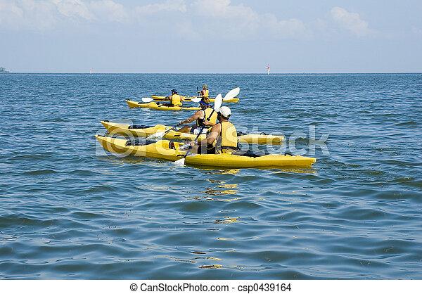 Kayak Trip - csp0439164