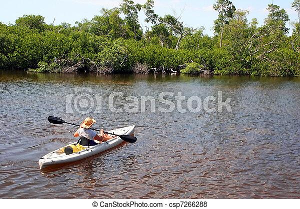 Kayaking - csp7266288