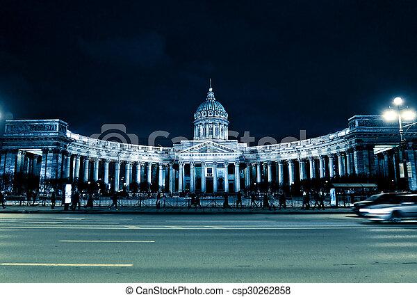 Kazan Cathedral in Saint Petersburg - csp30262858