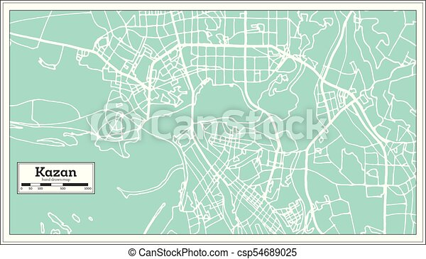 Kazan Russia City Map in Retro Style. Outline Map. on nizhny novgorod, elista russia map, vladivostok map, markovo russia map, volsk russia map, yurga russia map, tynda russia map, moscow map, bashkiria russia map, grozny russia map, serpukhov russia map, yaroslavl russia map, warsaw russia map, tatarstan russia map, ufa russia map, tula russia map, irkutsk map, volga river, samara russia map, novgorod russia map, crimea russia map, astrakhan russia map, saint petersburg,