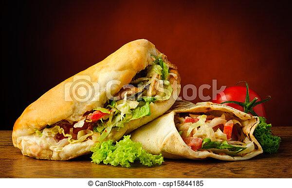Kebab and shawarma - csp15844185